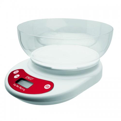 Báscula Digital para Cocina Ekco Evolution Blanca