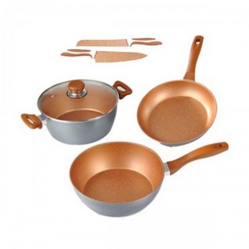 Batería Master Set copper 6 piezas