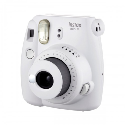 Cámara Instax mini 9 smoky white