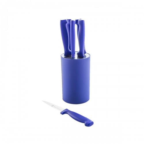 Set de cuchillos Azul 7 piezas