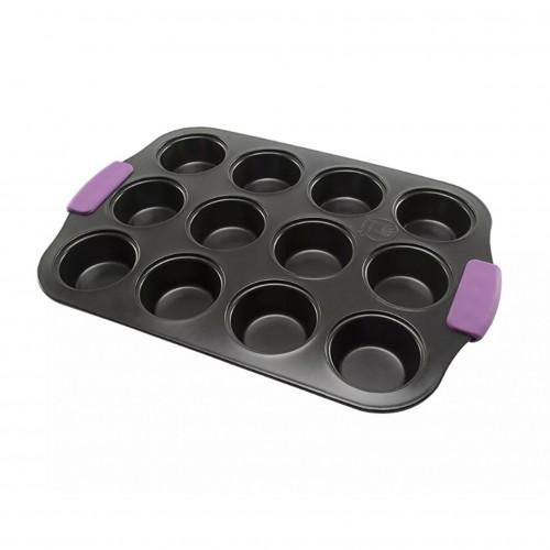 Molde para 12 cupcakes Morado