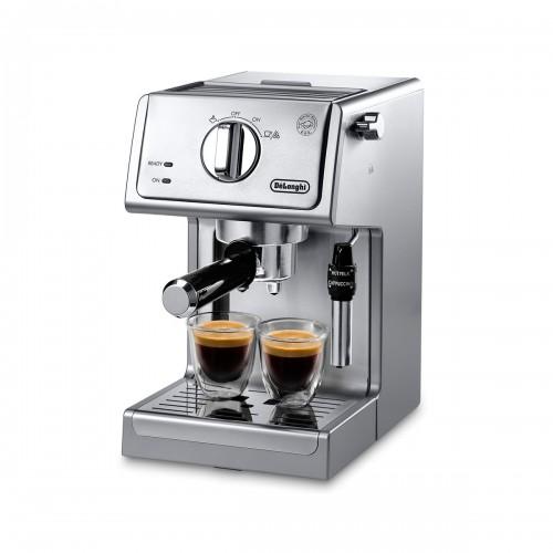Cafetera tipo barista Acero