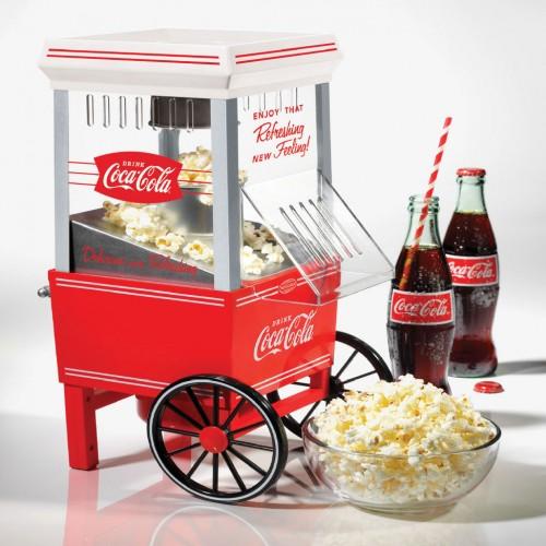 Popcorn Maker Hot Air Coca Cola