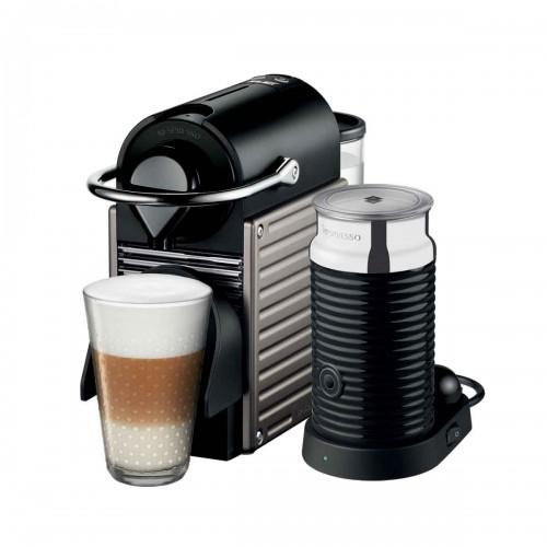 Combo cafetera Pixie Electric Titan y Aeroccino 3 Nespresso