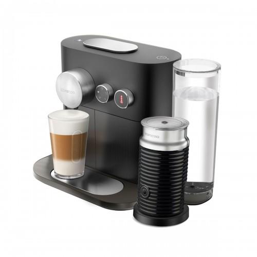 Combo cafetera Expert & Milk Black Nespresso