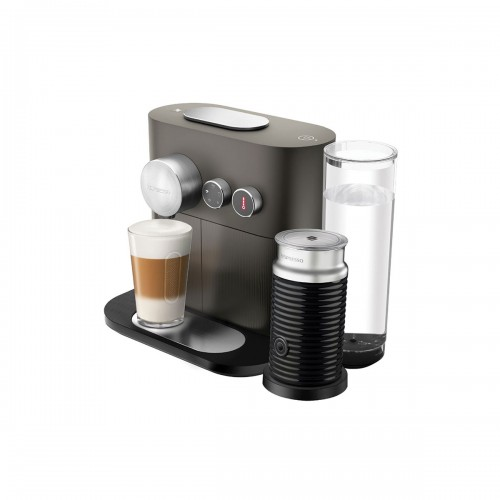 Combo cafetera Expert & Milk Anthracite Grey Nespresso
