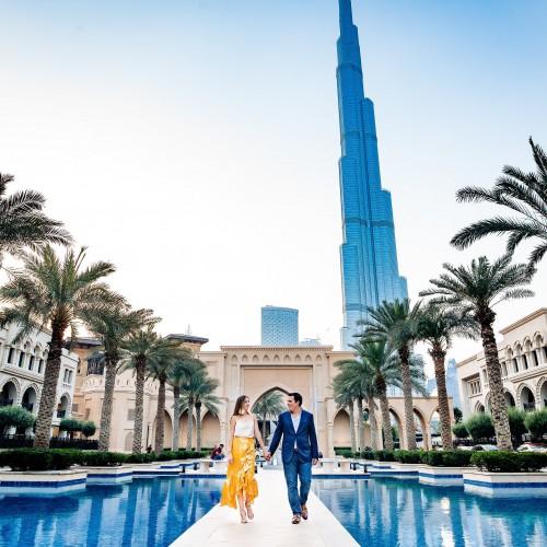 Sesión de Fotos Luna de Miel Dubai
