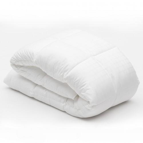 Edredón de fibragel todo el año, satin 100% algodón, 300 hilos, INDIVIDUAL