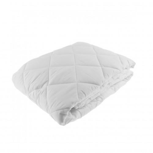 Protector de colchón de satín con impermeabilizante, 100% algodón, 300 hilos, INDIVIDUAL