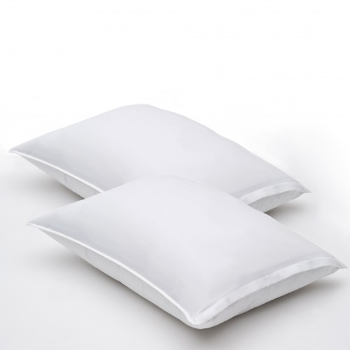 Almohadas de fibragel, microfibra, firmes con funda protectora ESTANDAR (pack de 2)