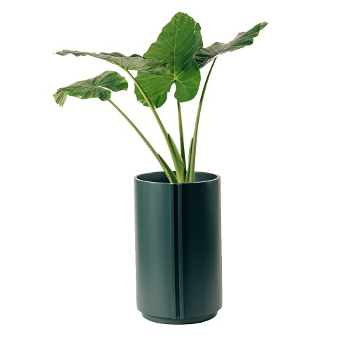 Maceta The Cylinder Large Forest Green