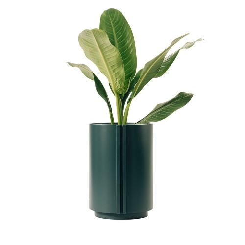 Maceta The Cylinder Small Forest Green