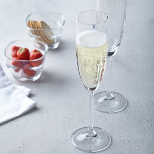 Set de 6 Copas para Champagne Flauta 200 ml Daily