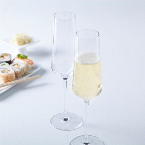 Set de 6 Flautas para Champagne 280 ml Puccini