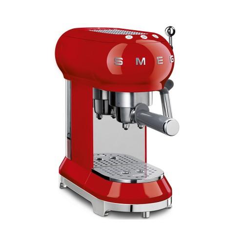 Máquina de café espresso Roja