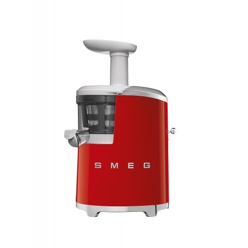 Slow juicer extractor de jugo Rojo años 50s