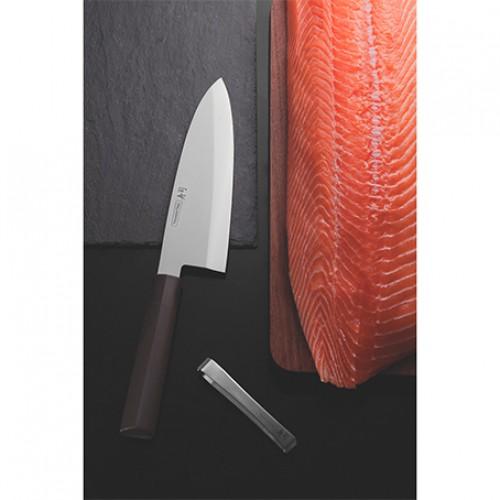 Cuchillo Deba 8 Sushi Silver