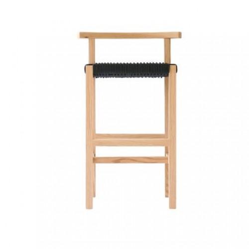 Silla Counter Koi - Encino y Cuerda Negra