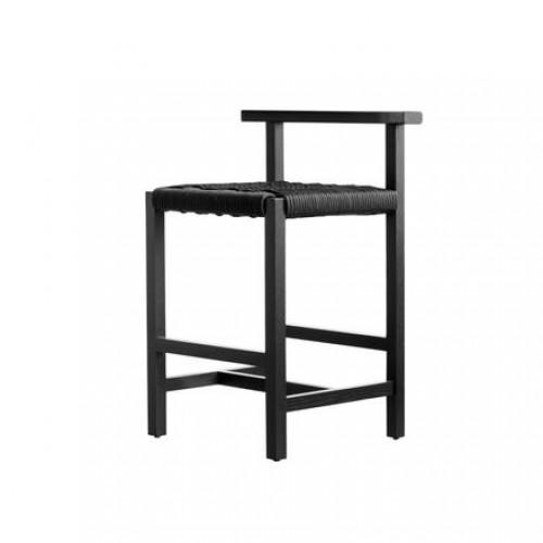 Silla Counter Koi - Encino Negro