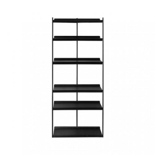 Librero Duet - Slim Metal Negro