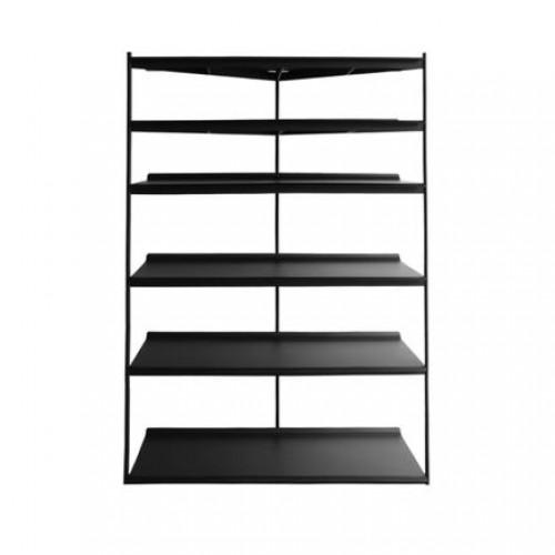 Librero Duet - Tall Metal Negro