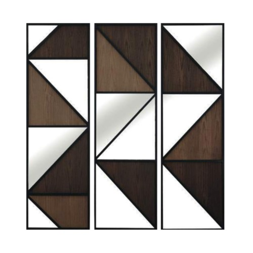 Espejo Wooden Set 3