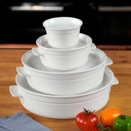 Cooking E Fuente Horno con Tapa Redondo 30 cm