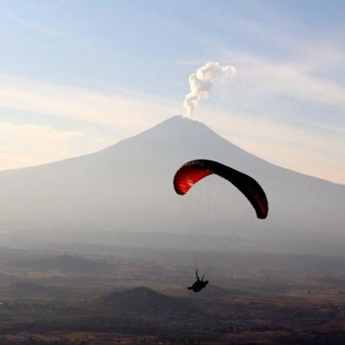 Vuelo en Parapente en Puebla