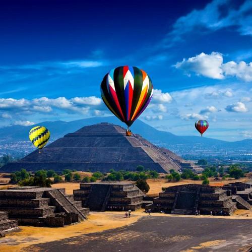 Vuelo Compartido en Teotihuacán